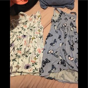 H&m 4t dresses ! New no tags